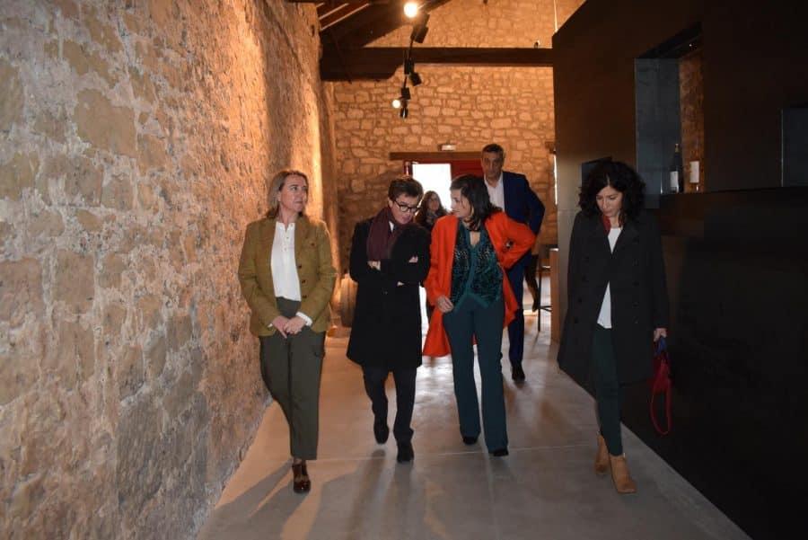 CVNE celebra su 140 aniversario con la ampliación de sus instalaciones en la histórica bodega de Haro 25