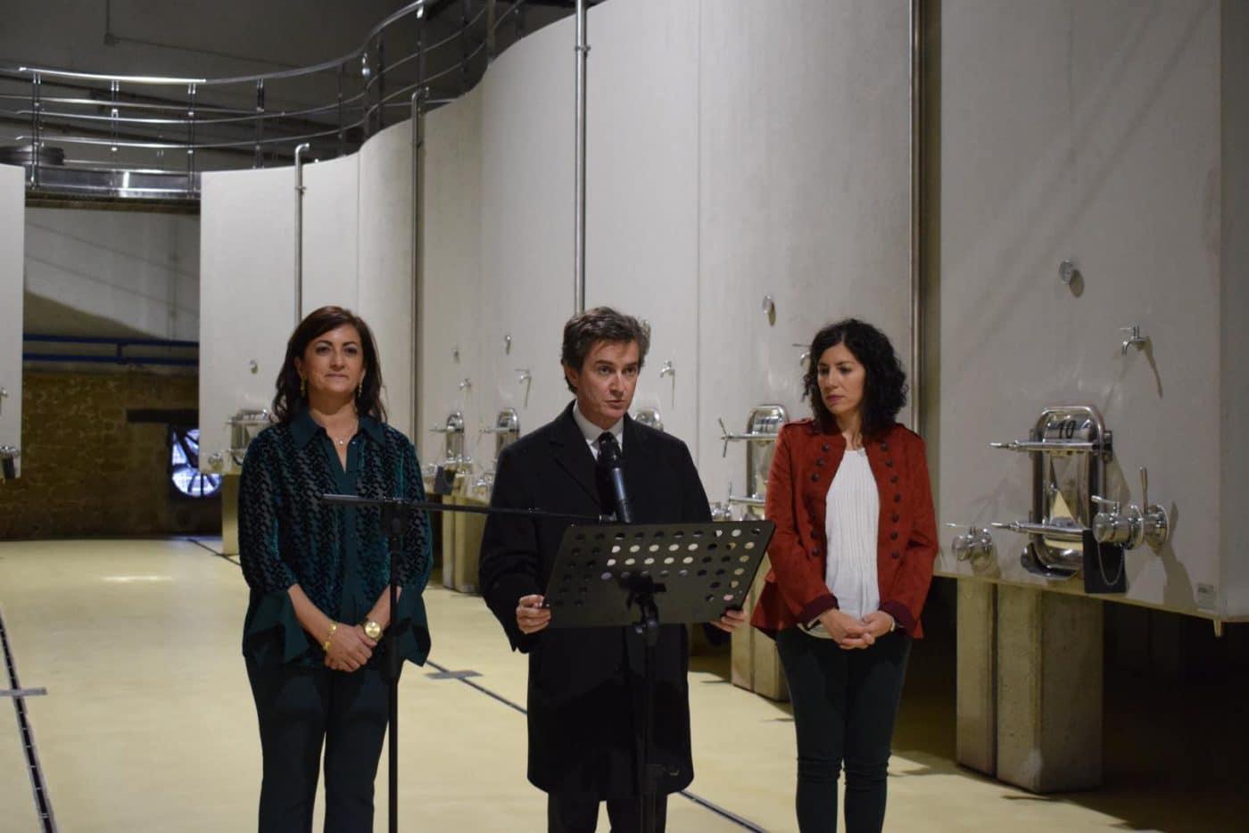 CVNE celebra su 140 aniversario con la ampliación de sus instalaciones en la histórica bodega de Haro 4