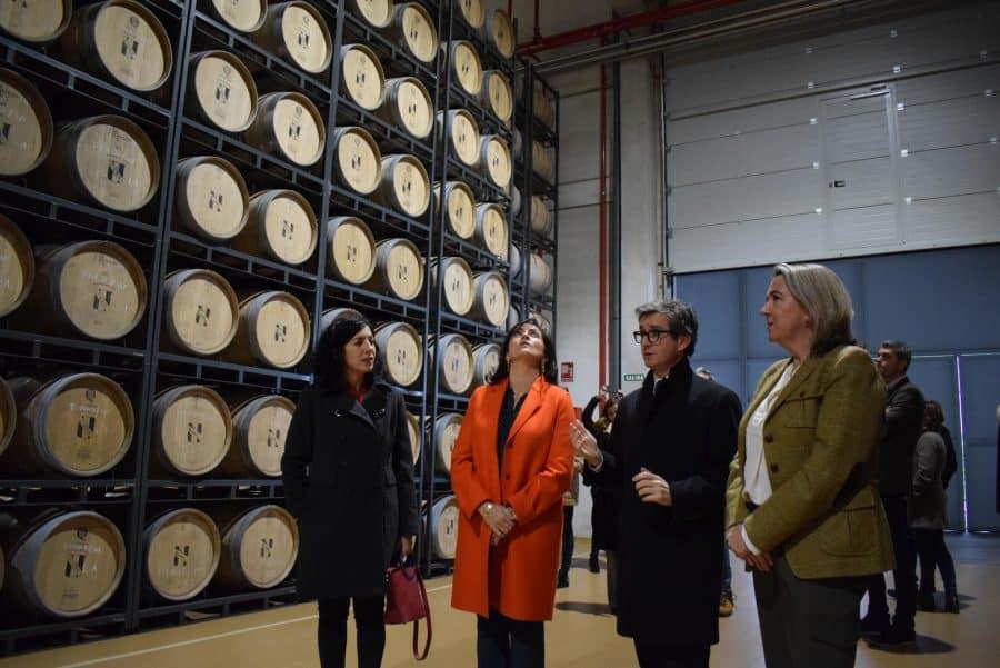 CVNE celebra su 140 aniversario con la ampliación de sus instalaciones en la histórica bodega de Haro 30