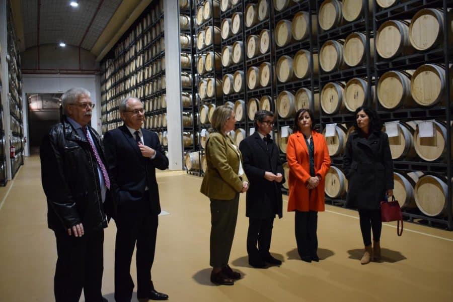 CVNE celebra su 140 aniversario con la ampliación de sus instalaciones en la histórica bodega de Haro 32