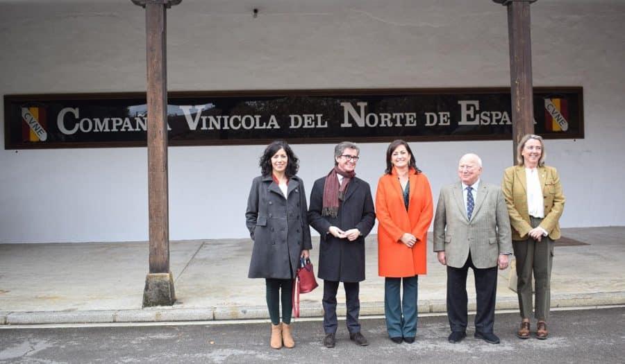 CVNE celebra su 140 aniversario con la ampliación de sus instalaciones en la histórica bodega de Haro 13