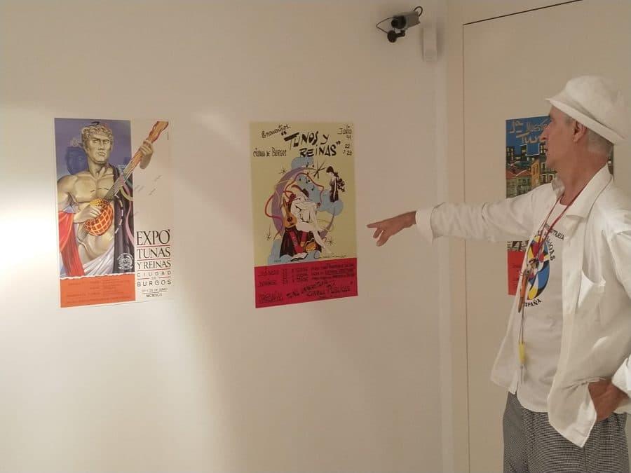 Santo Domingo acoge una exposición por el 40 aniversario de la Tuna Universitaria de Obras Públicas de Burgos 4