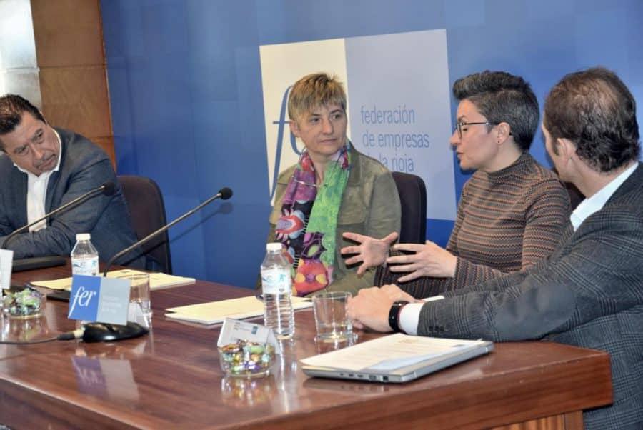 """El Foro de Recursos Humanos de la FER debate sobre la necesidad de La Rioja de """"atraer y retener talento"""" 3"""