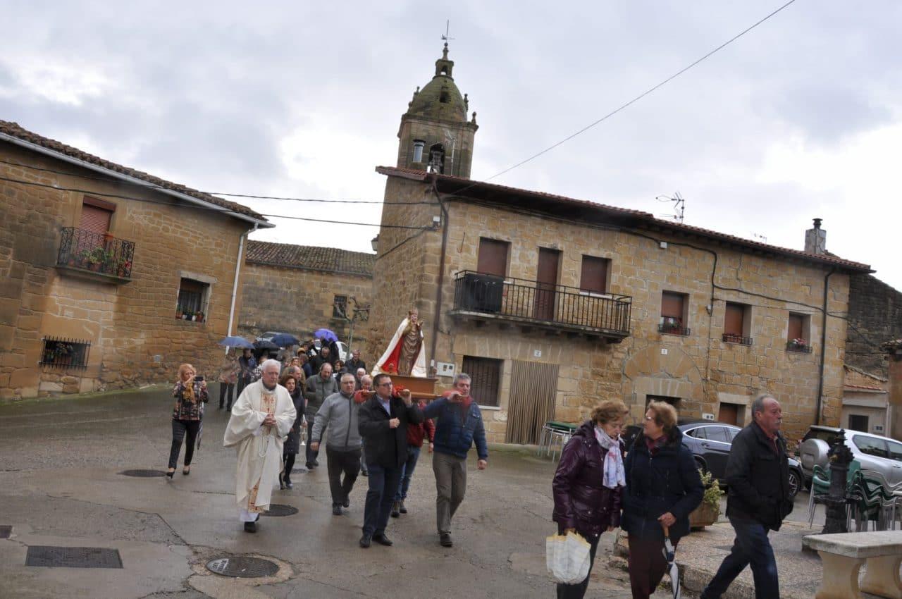 San Martín de Tours, por todo lo alto en Fonzaleche - Haro Digital