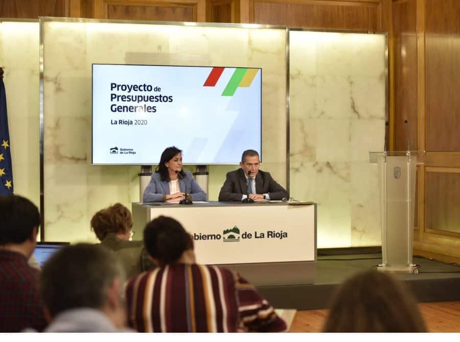 """Los Presupuestos de La Rioja ascienden a casi 1.600 millones de euros con un """"marcado giro social"""" 1"""