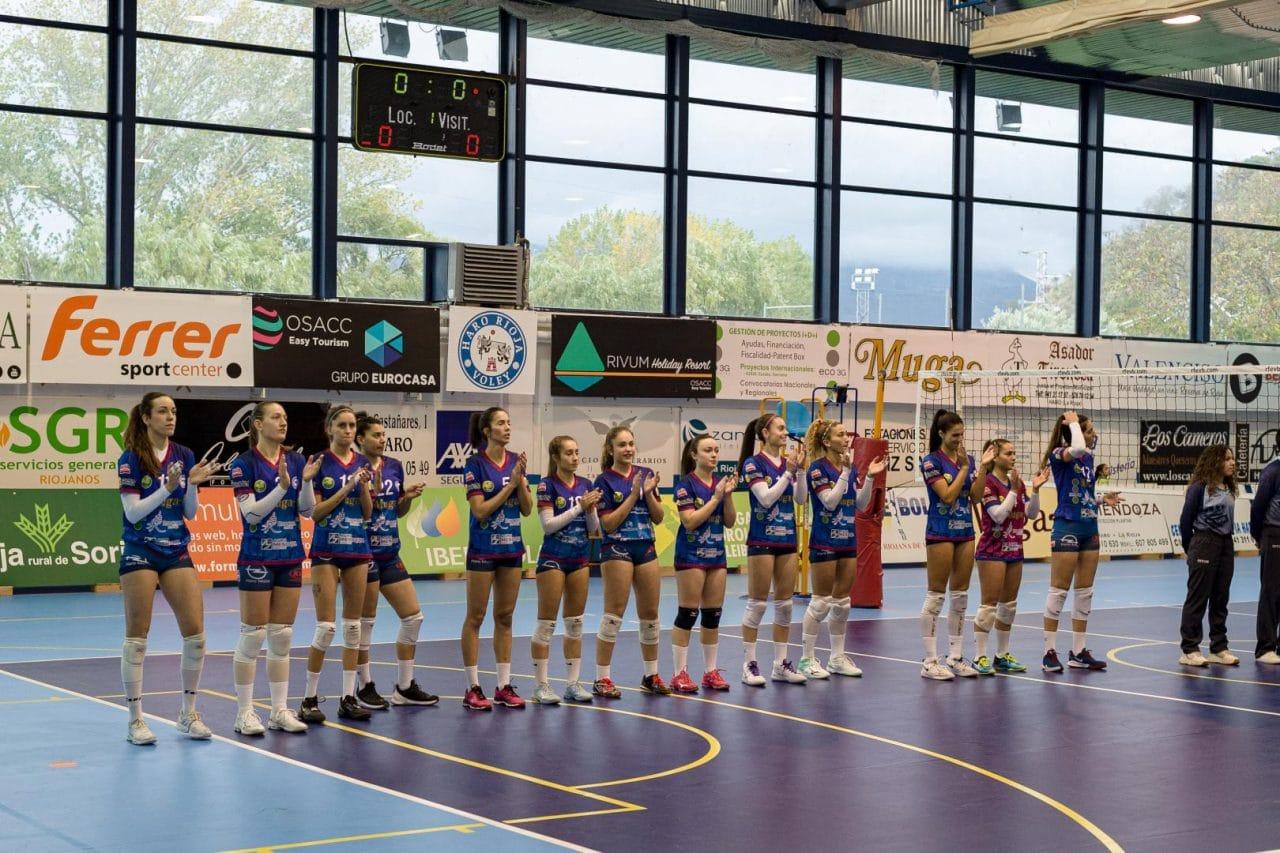 El Feel Volley Alcobendas se lleva ante el OSACC Haro un partido de infarto 1