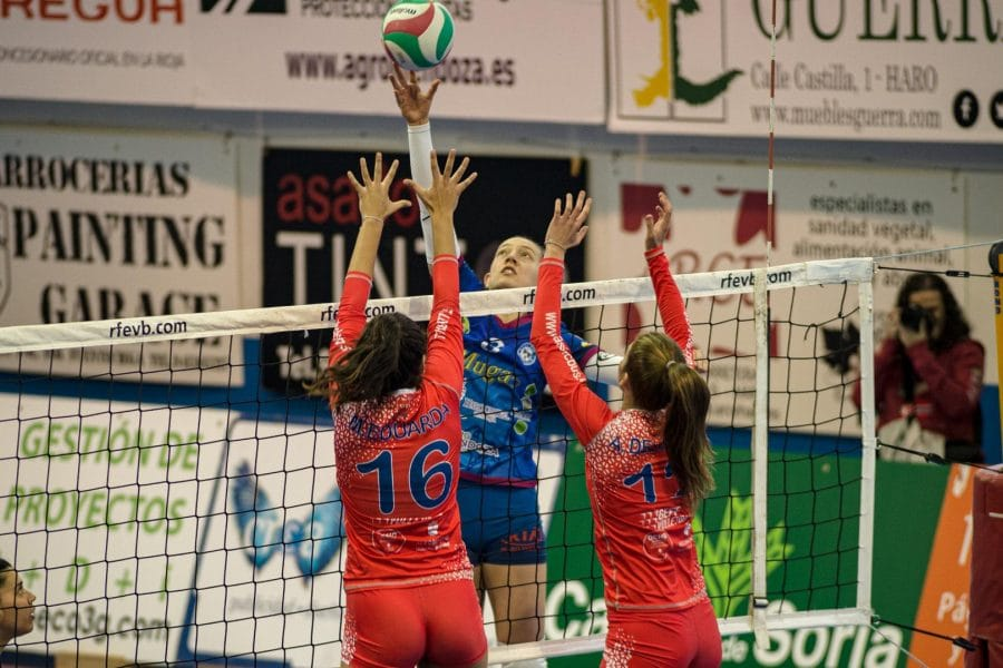 El Feel Volley Alcobendas se lleva ante el OSACC Haro un partido de infarto 5