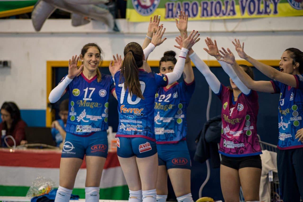 El Feel Volley Alcobendas se lleva ante el OSACC Haro un partido de infarto 2