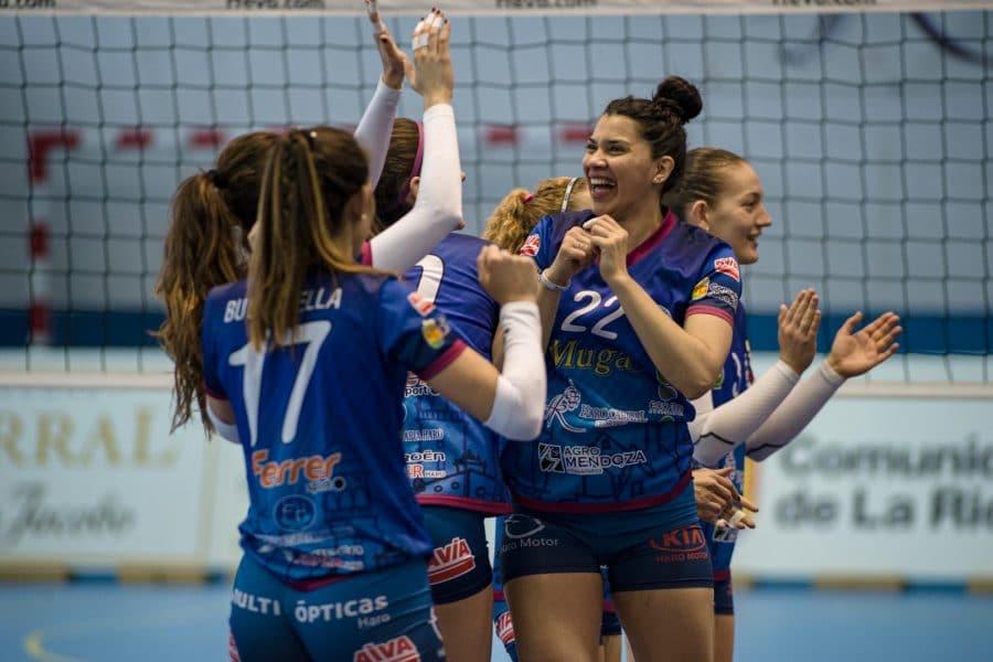 El Feel Volley Alcobendas se lleva ante el OSACC Haro un partido de infarto 4