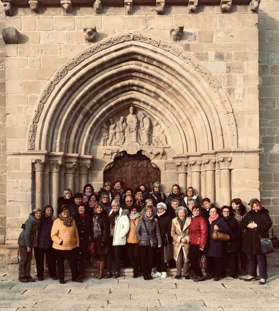 Las Mujeres de la Vega visitan Santo Domingo de la Calzada y Bañares 5