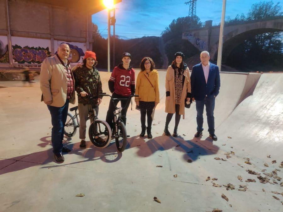 Haro actualiza el 'skatepark' de El Ferial 1