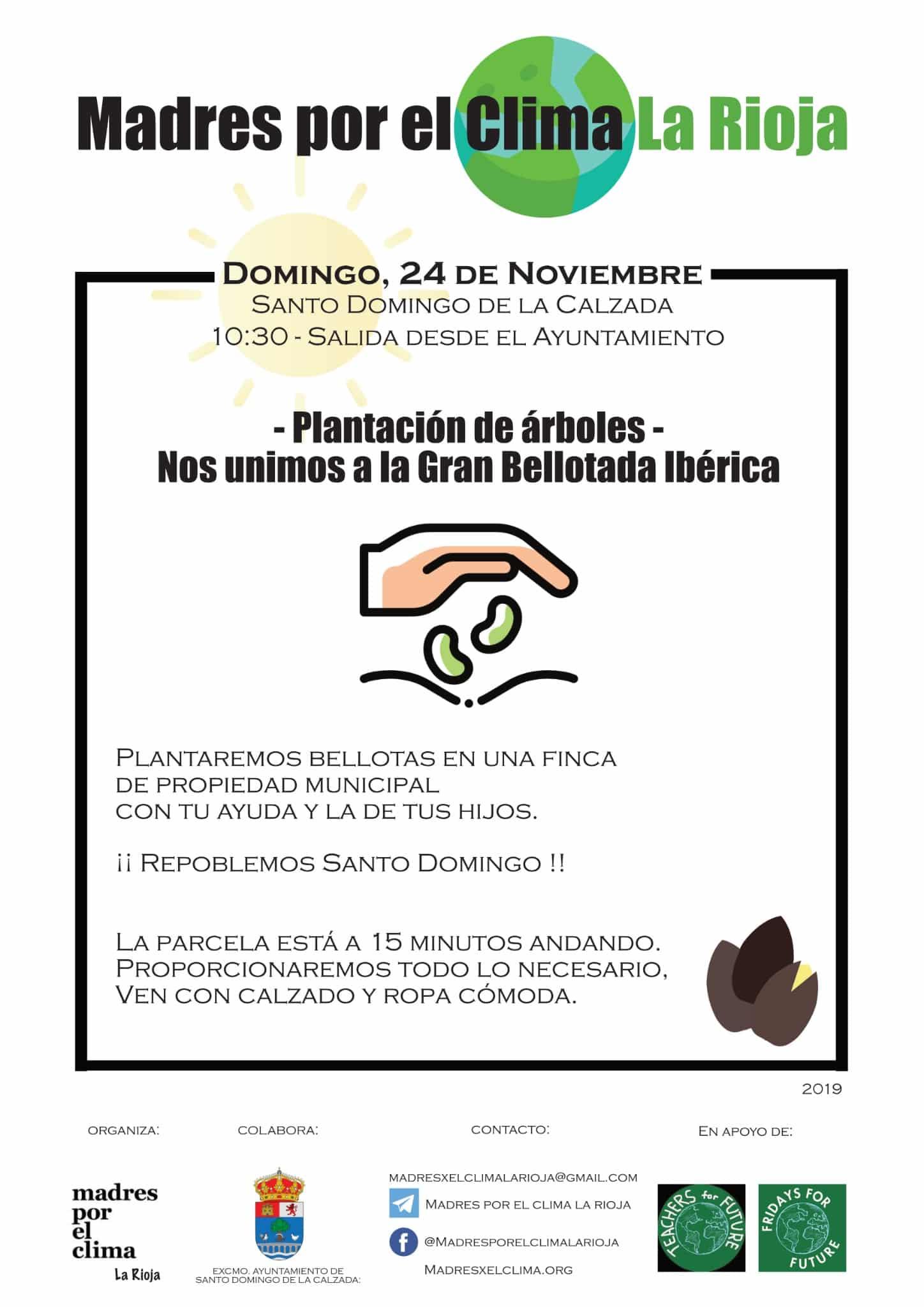 Santo Domingo de la Calzada se suma a 'La Gran Bellotada Ibérica' 1