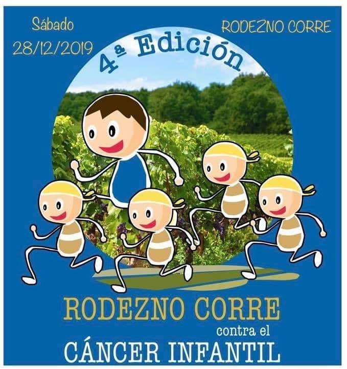 La cuarta edición de Rodezno Corre se celebrará el 28 de diciembre 1