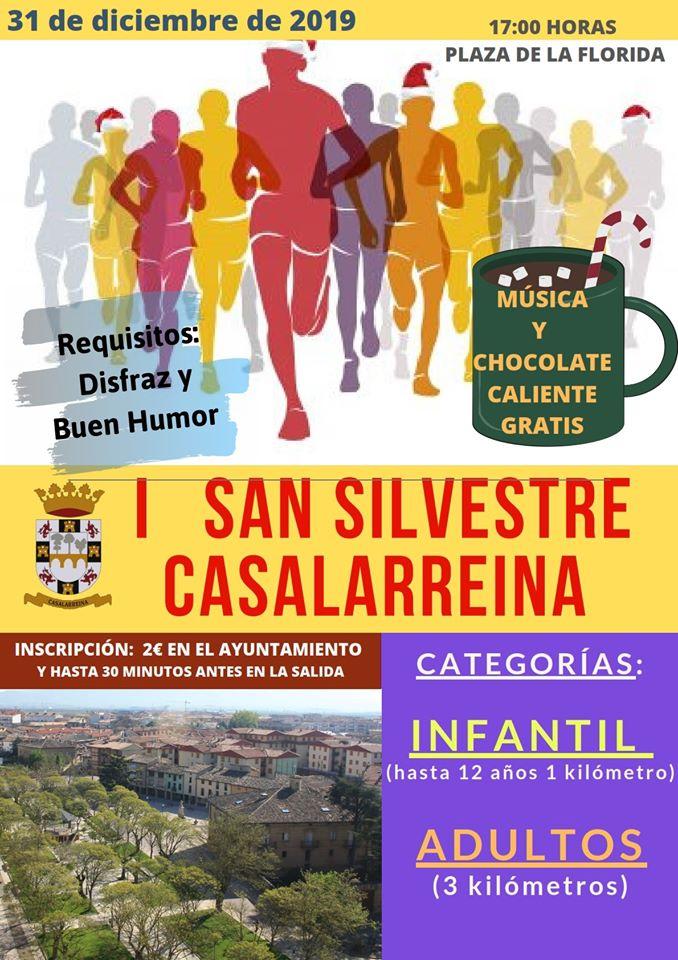 Casalarreina estrena San Silvestre 1