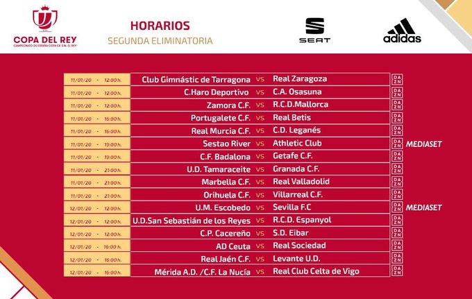 El Haro-Osasuna de Copa, el sábado 11 de enero a las 12:00 horas 1