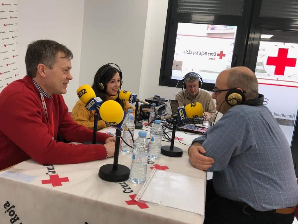 Cruz Roja Haro reconoce la labor de los voluntarios de Protección Civil y de Carmen Bacigalupe 1