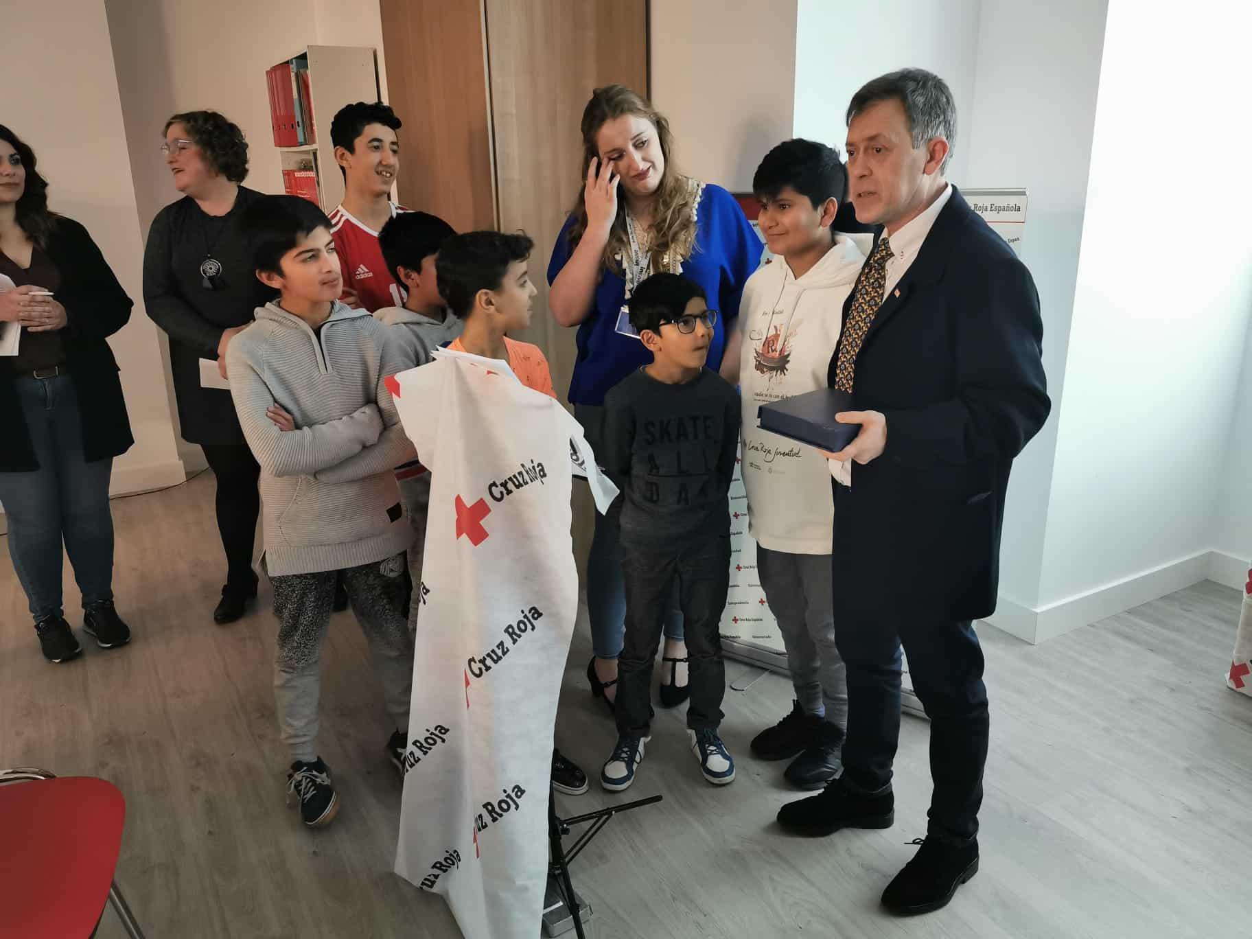 Cruz Roja Haro reconoce la labor de los voluntarios de Protección Civil y de Carmen Bacigalupe 2