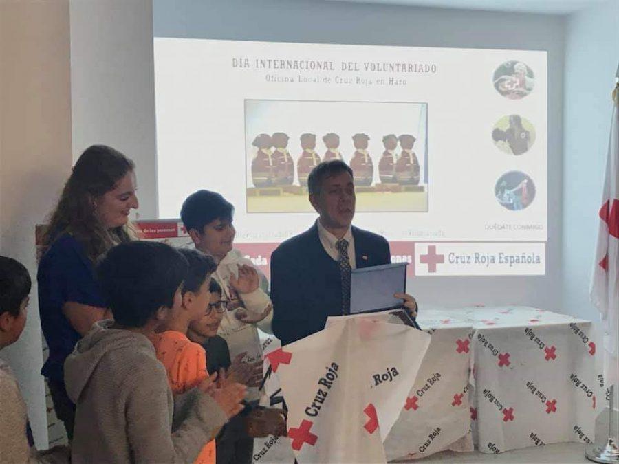 Cruz Roja Haro reconoce la labor de los voluntarios de Protección Civil y de Carmen Bacigalupe 6
