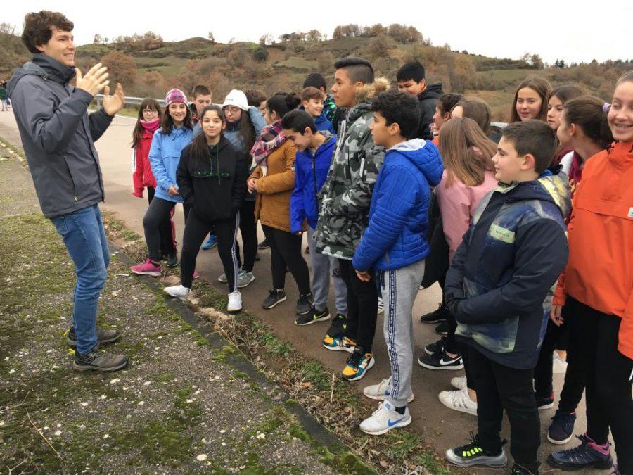 Estudiantes del IES Rey Don García de Nájera recorren el Yalde a través del ciclo urbano del agua 3
