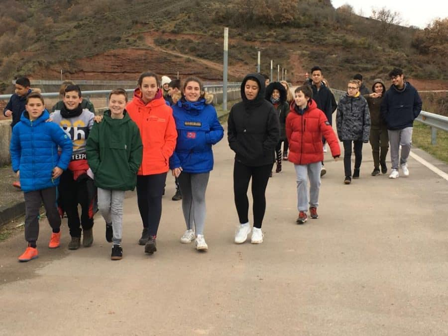 Estudiantes del IES Rey Don García de Nájera recorren el Yalde a través del ciclo urbano del agua 4
