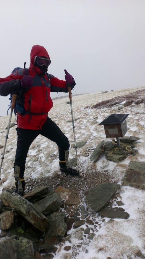 El K2 de Nájera desafía vientos de 180 kilómetros por hora en la tradicional colocación del belén 2