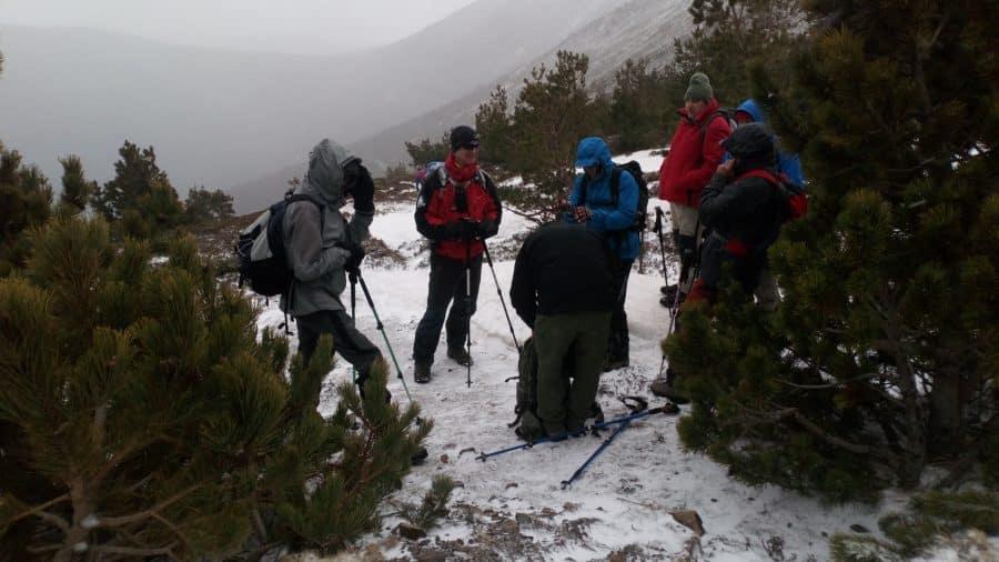 El K2 de Nájera desafía vientos de 180 kilómetros por hora en la tradicional colocación del belén 1