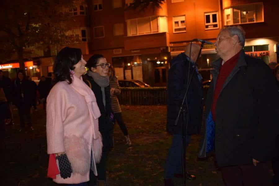 Haro enciende la Navidad en compañía de la presidenta Andreu 3