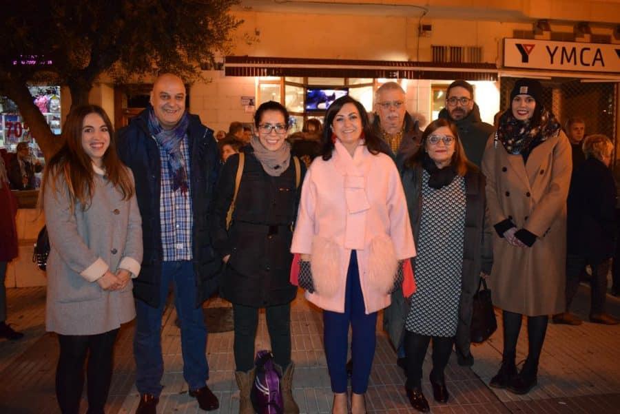 Haro enciende la Navidad en compañía de la presidenta Andreu 1