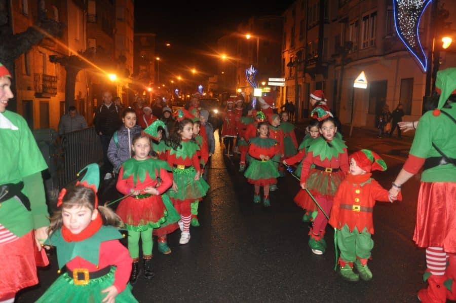 Santo Domingo de la Calzada dio la bienvenida a la Navidad 1