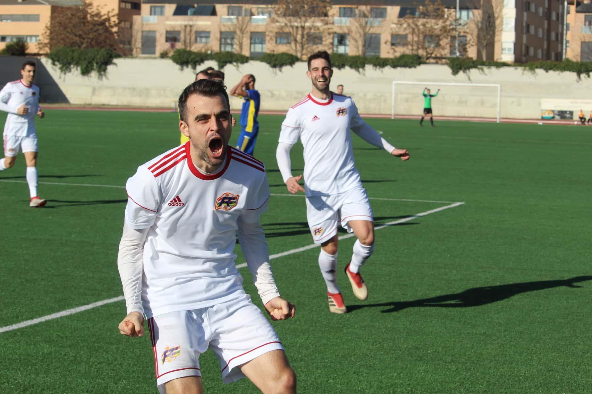 Rubén Pérez, goleador de La Rioja en la Copa de las Regiones UEFA | Foto: Federación Riojana de Fútbol