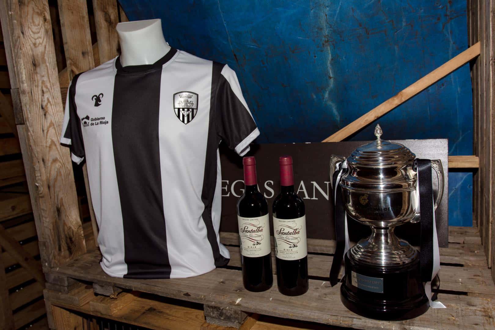 Santalba, vino oficial del Haro Deportivo 1