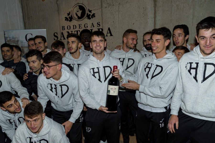 Santalba, vino oficial del Haro Deportivo 3