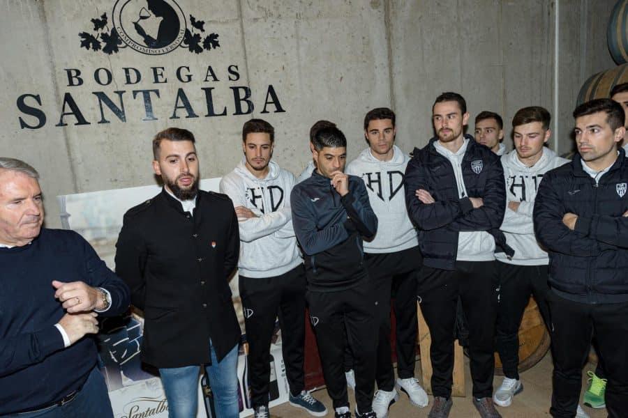 Santalba, vino oficial del Haro Deportivo 4