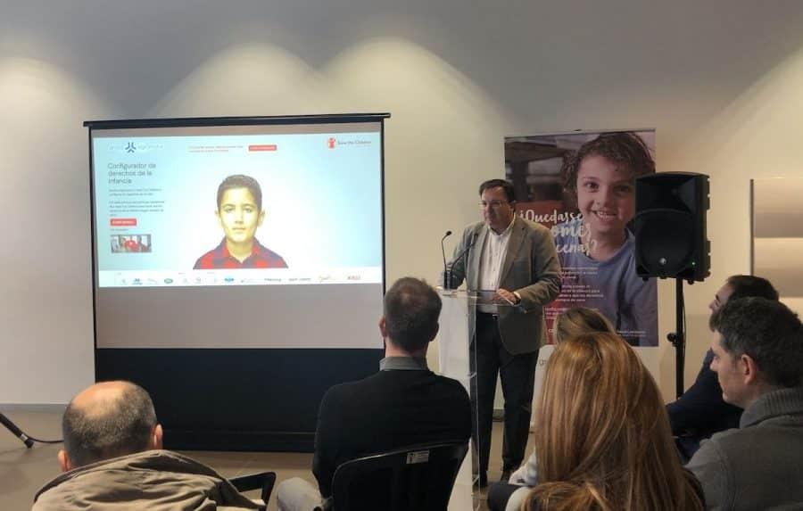 """Grupo Agromotor y Save The Children inician una campaña para para garantizar que todos los niños tengan sus derechos """"de serie"""" 1"""