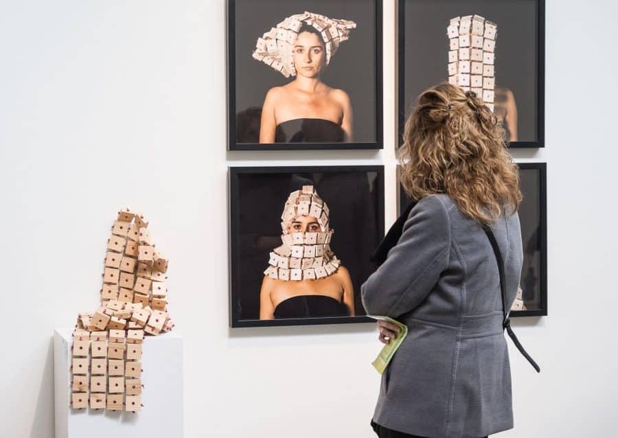 Estudiantes del IES Ciudad de Haro visitan la Feria Internacional de Escultura Contemporánea SCULTO 3