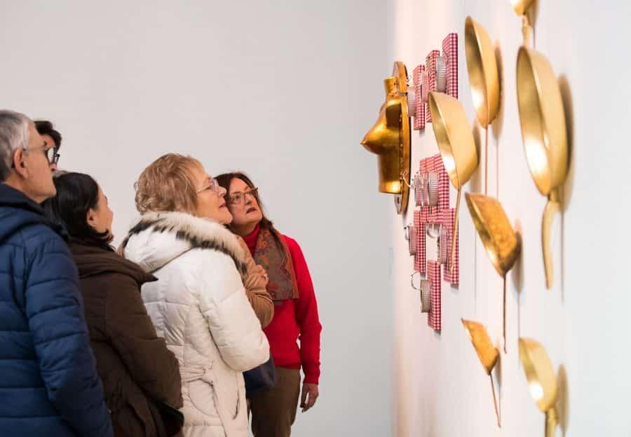 Estudiantes del IES Ciudad de Haro visitan la Feria Internacional de Escultura Contemporánea SCULTO 9