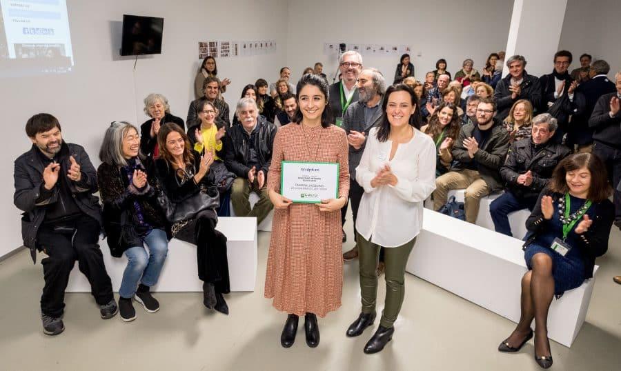 Estudiantes del IES Ciudad de Haro visitan la Feria Internacional de Escultura Contemporánea SCULTO 11