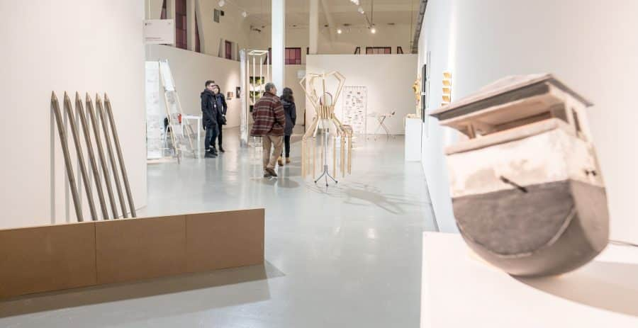 Estudiantes del IES Ciudad de Haro visitan la Feria Internacional de Escultura Contemporánea SCULTO 14