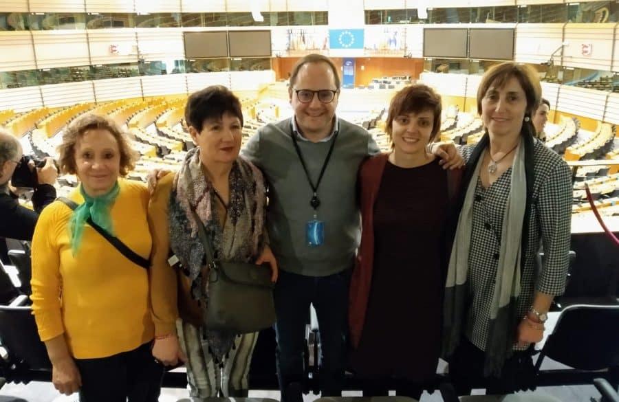 Vecinos de La Rioja Alta visitan el Parlamento Europeo 3