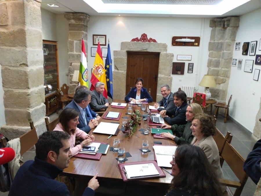 El Gobierno riojano palpa sobre el terreno la situación de Santo Domingo de la Calzada 7