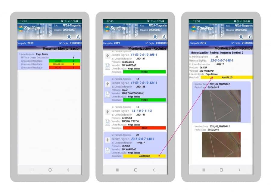 Dos aplicaciones móviles permitirán a agricultores riojanos consultar sus expedientes de la PAC 1