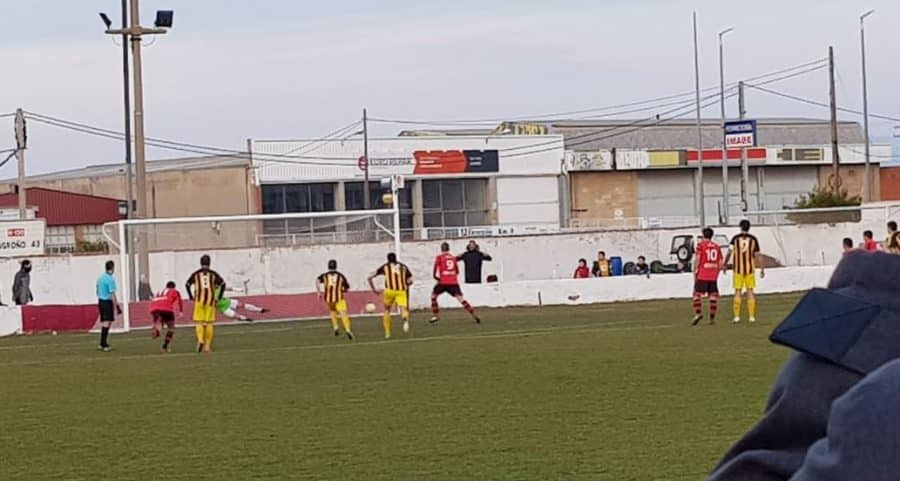 La Calzada no pasa del empate con el Vianés 3
