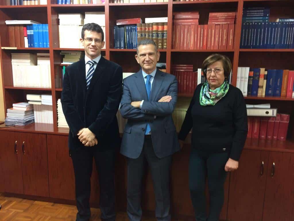 Andreu y sus consejeros conocen de primera mano la situación y necesidades de Nájera 4