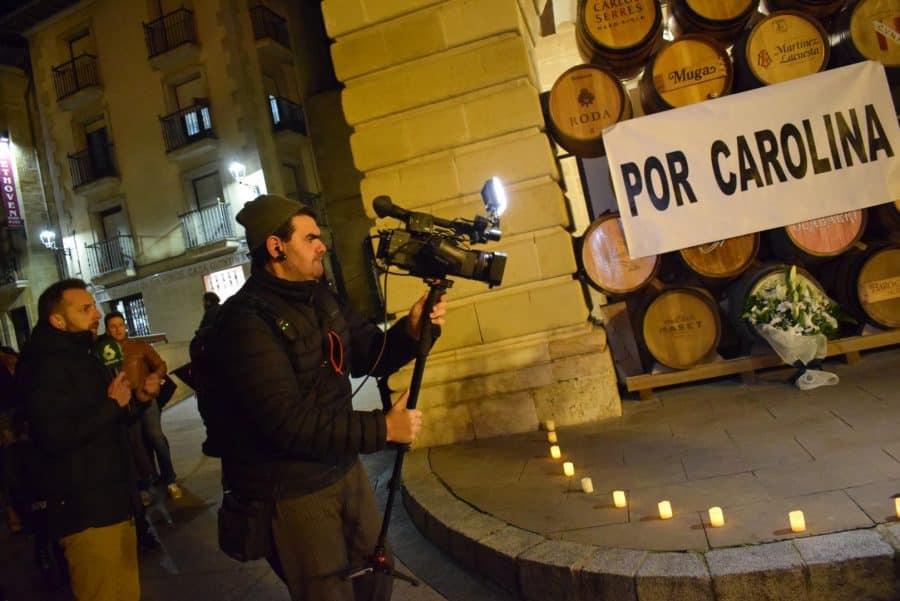 """Cientos de personas se concentran en Haro """"por Carolina"""" 4"""
