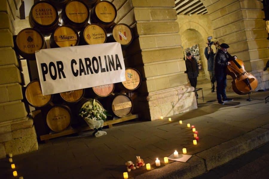 """Cientos de personas se concentran en Haro """"por Carolina"""" 6"""