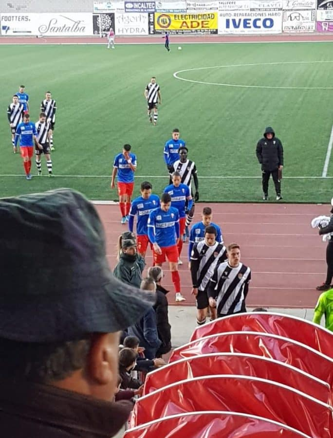 La UD Logroñés se lleva el derbi de El Mazo 1