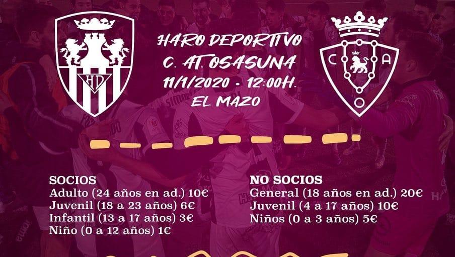 Los Reyes dejan en Haro más entradas gratis para la Copa con el abono de la segunda vuelta 1