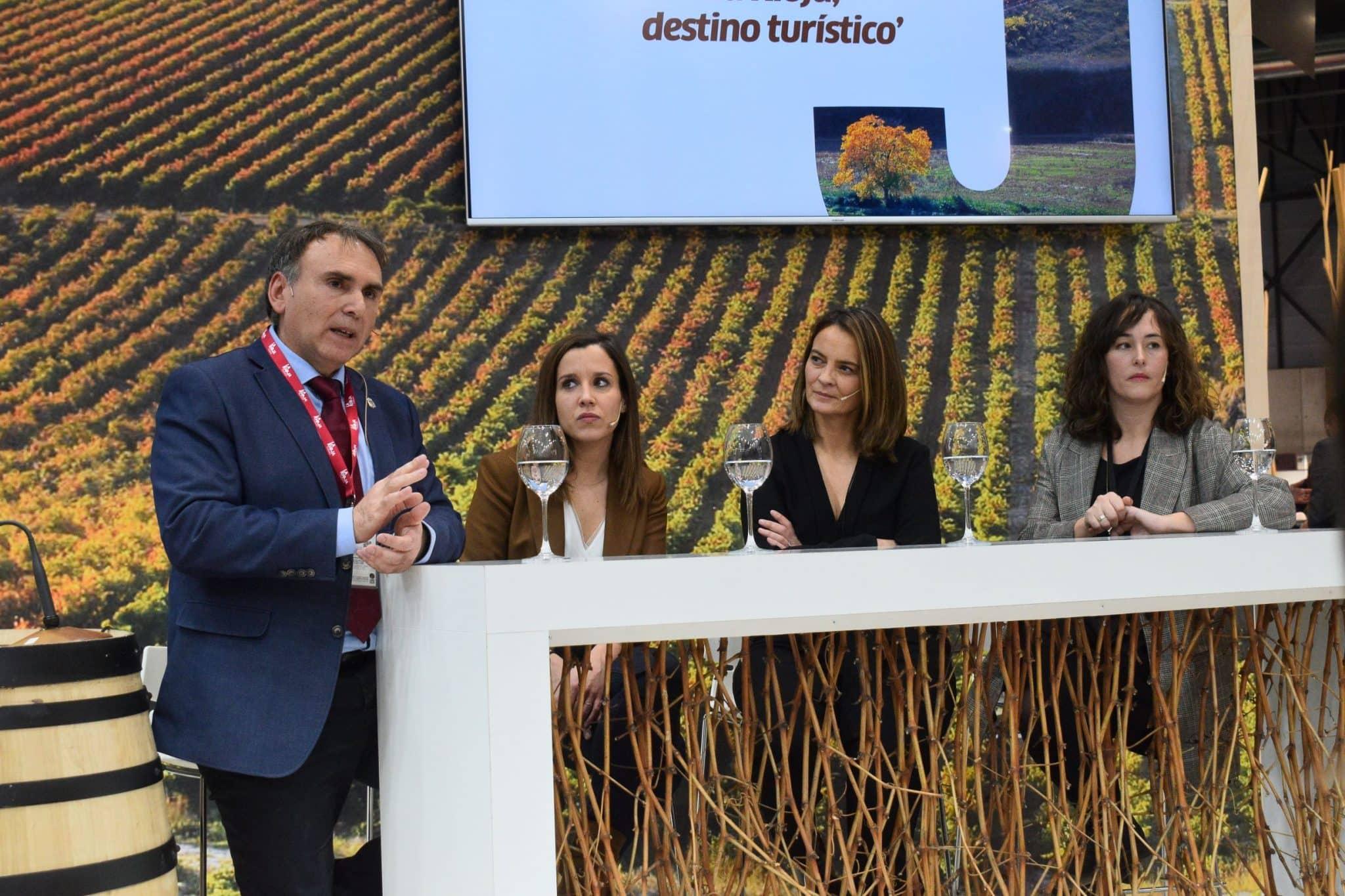 Maridaje entre cultura, vino y gastronomía en la primera jornada de La Rioja en Fitur 2020 2