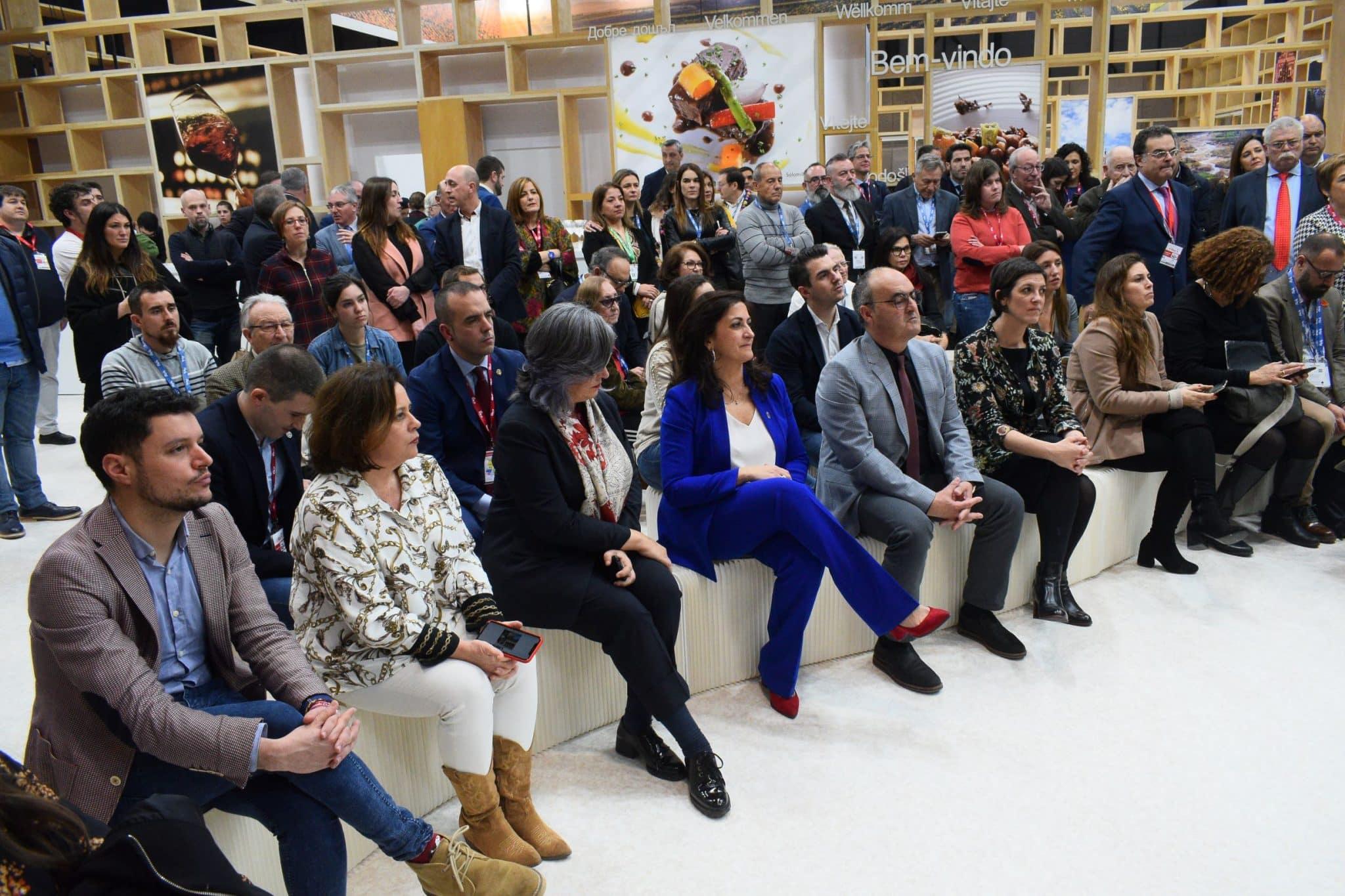 Maridaje entre cultura, vino y gastronomía en la primera jornada de La Rioja en Fitur 2020 3