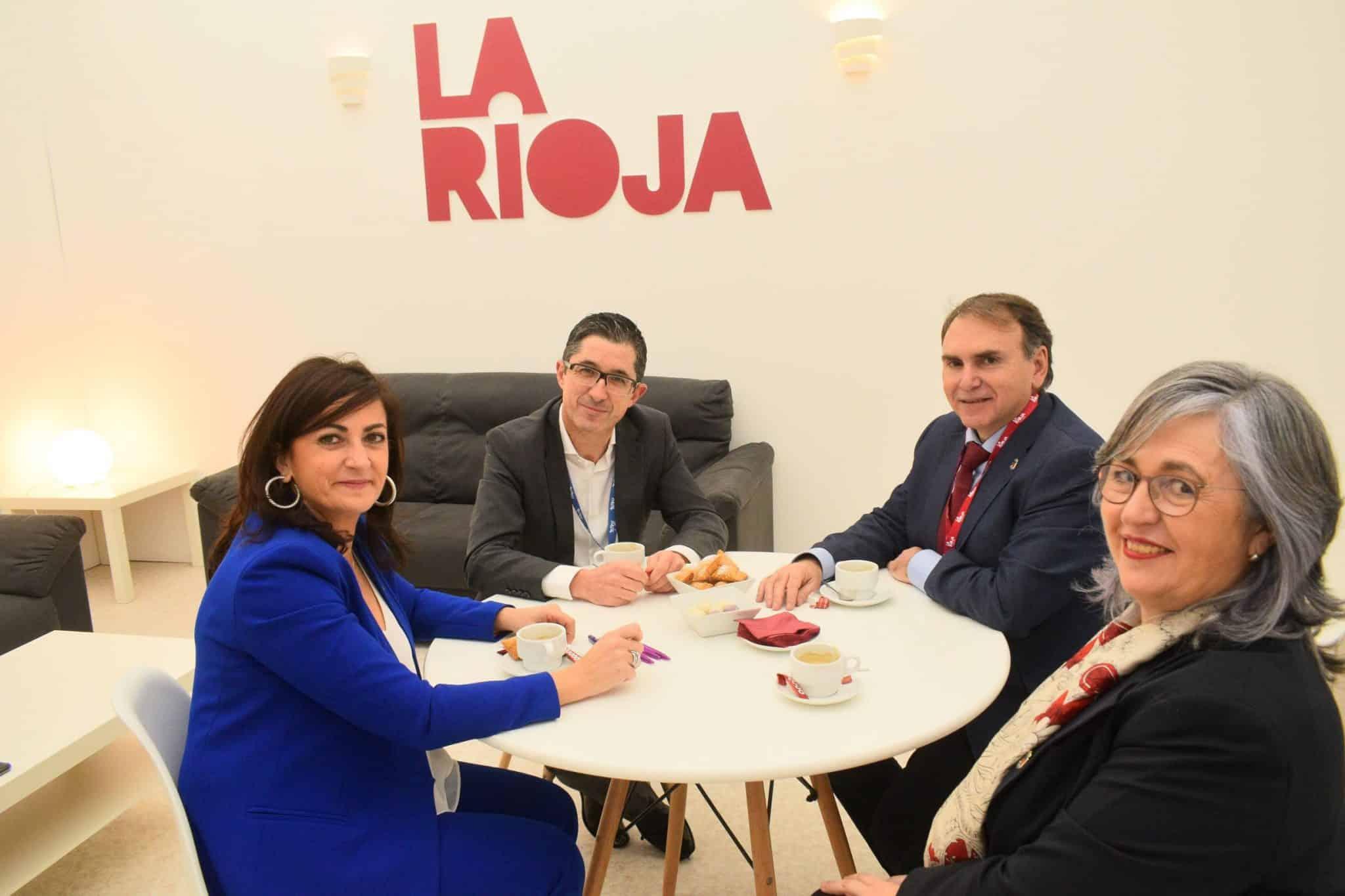 Maridaje entre cultura, vino y gastronomía en la primera jornada de La Rioja en Fitur 2020 1